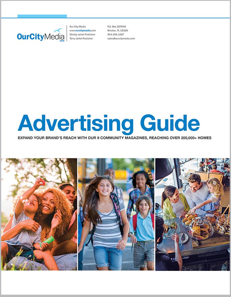 Our City Media's Media kit for advertisers.